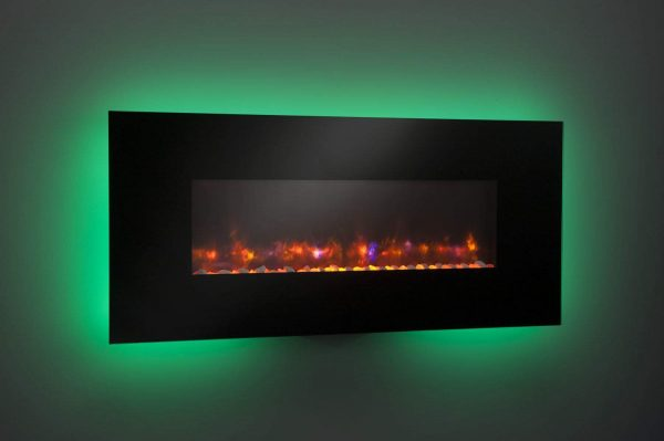 """GreatCo Gallery Series Built-in Electric Fireplace, 58"""" 3"""