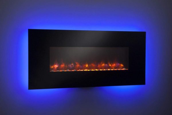 "GreatCo Gallery Series Built-in Electric Fireplace, 58"" 4"