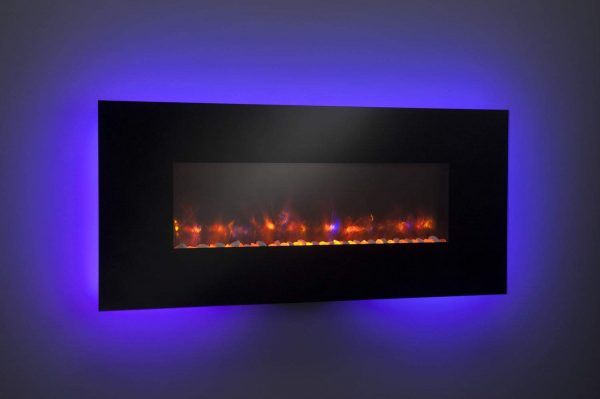 "GreatCo Gallery Series Built-in Electric Fireplace, 58"" 5"