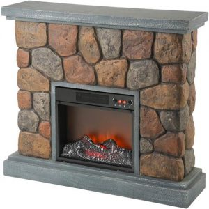 Grizzly Industrial T10832 Electric Fireplace Sim. Stones