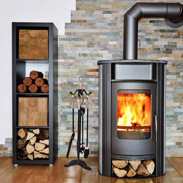 Gymax 5 PCS Hearth Tool Fireplace Set Fire Tools Set 2