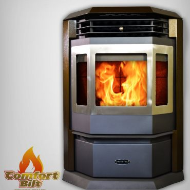 HP22-SS Pellet Stove Brown