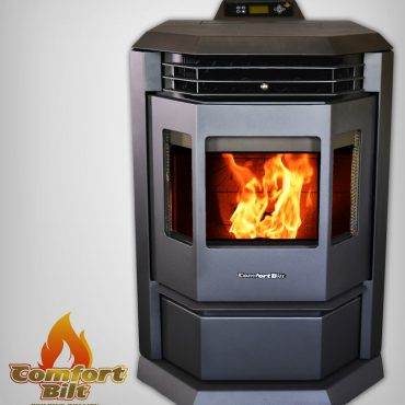 HP22 Series Pellet Stove Carbon Black