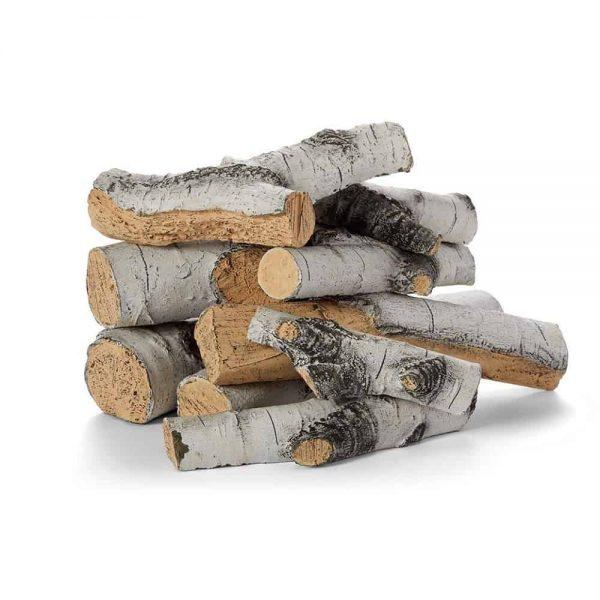 HPC Aspen Birch Outdoor Ceramic Gas Log Set