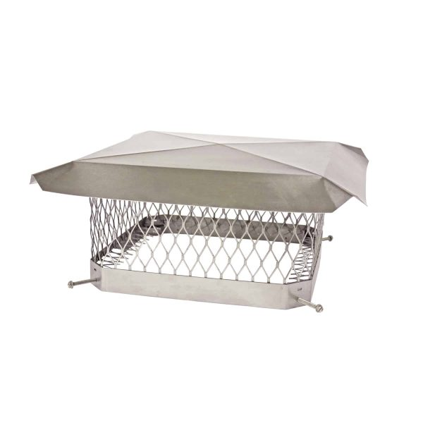 """HY-C Shelter Pro Stainless Steel Chimney Cap- 5/8""""-9x13"""