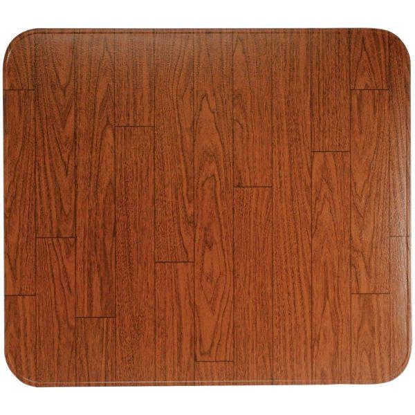 """HY-C T2UL3636WW-1C Type 2 UL1618 Woodgrain Tile Stove Board (36"""" x 36"""")"""