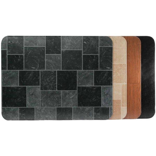 "HY-C T2UL3648GT-1C Type 2 UL1618 Gray Slate Stove Board (36"" x 48"") 1"