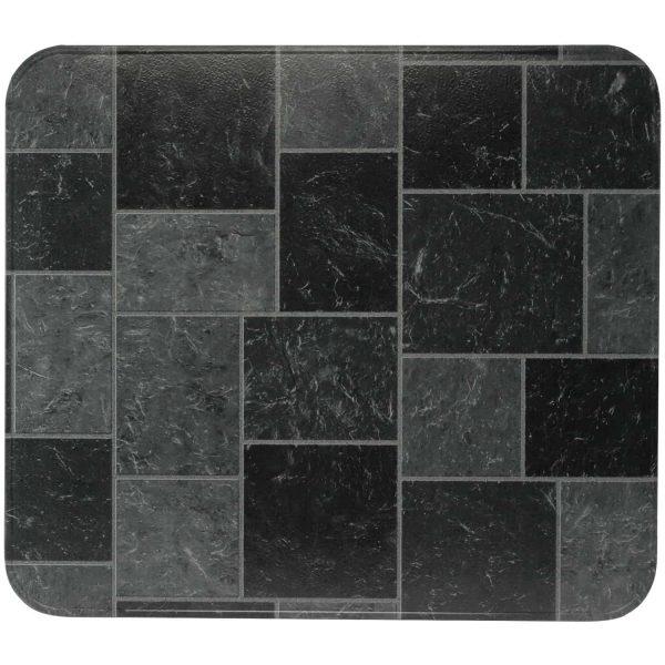 "HY-C T2UL3648GT-1C Type 2 UL1618 Gray Slate Stove Board (36"" x 48"")"