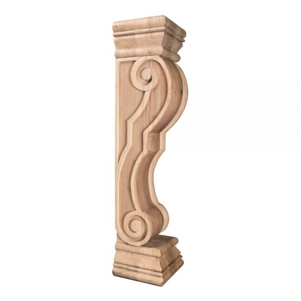 Hardware Resources Fcorq-Mp Rounded Traditional Fireplace Corbel