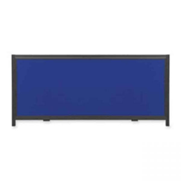 Header Panel Showboard- 31-.94in.x10-.50in.- Blue
