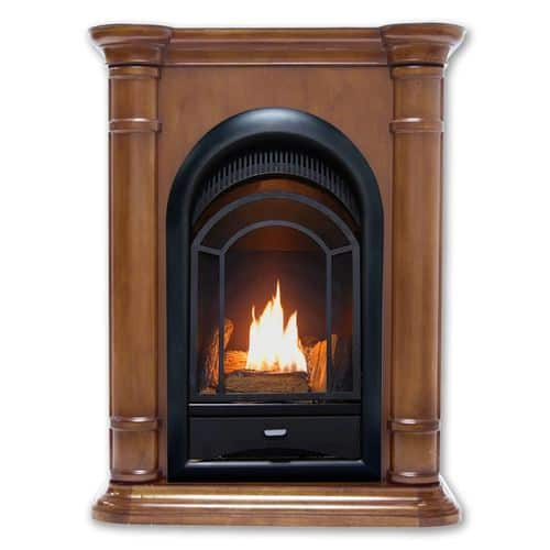 HearthSense Dual Fuel Ventless Gas Fireplace - 15