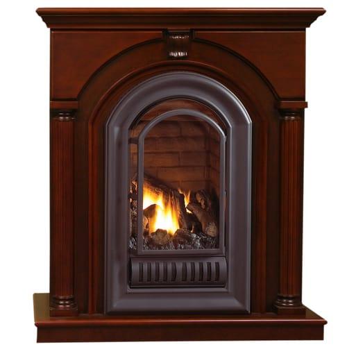 HearthSense Liquid Propane Vent Free Gas Fireplace- 20