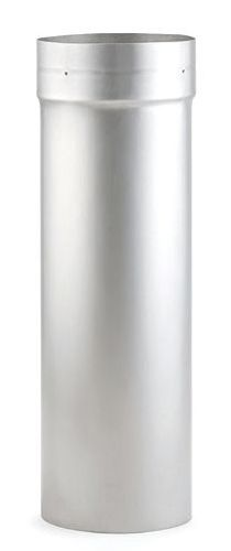 """Heat-Fab 4707SS Stainless Steel 304 7"""" X 36"""" Stainless Steel Chimney Liner"""