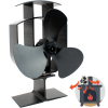 Heat Powered Stove Fan 3 Blade