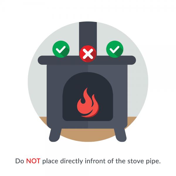 Heat Powered Stove Fan 3 Blade , Silent Operation , Fireplace Wood + Log Burner , Eco Friendly , Effective Heat Circulation 1