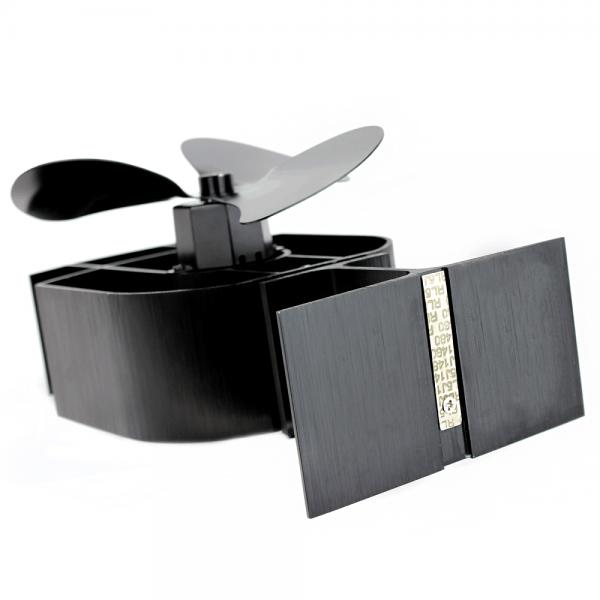 Heat Powered Stove Fan 3 Blade , Silent Operation , Fireplace Wood + Log Burner , Eco Friendly , Effective Heat Circulation 2