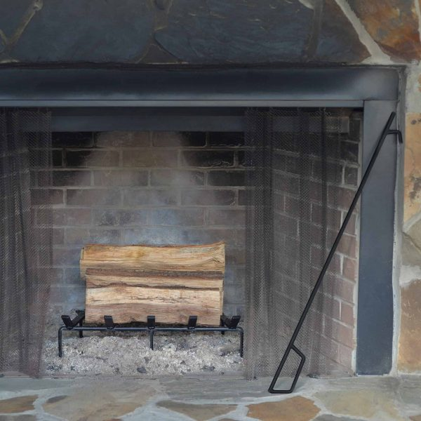 Heritage Products Heavy Duty 13 x 10 Inch Steel Grate for Wood Stove & Fireplace - Made in the USA 2
