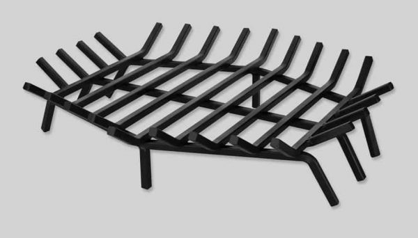 Hexagonal Fireplace Grate - 27 Inches
