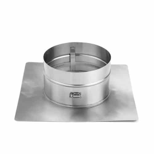 """HomeSaver 7"""" UltraPro/Pro 18"""" x 18"""" 304 Alloy Collarplate with Band"""