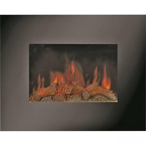Homebasix 4688750 26 in. Electric Wall Mount Heater Fireplace