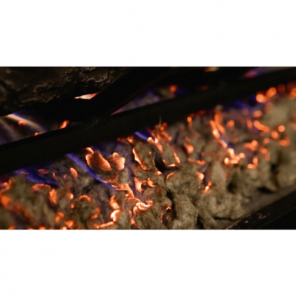 Human Skull Ceramic Wood Large Gas Fireplace Logs Logs for All Types of Gas Inserts