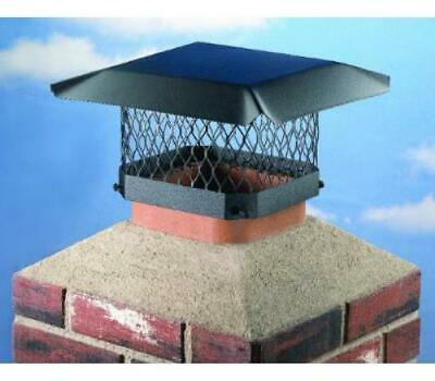 Hy-C SC913 Shelter Chimney Cap Black Steel 9 Inch By 13 Inch