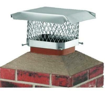 Hy-C SCSS1313 13 Inch By 13 Inch Ss Chimney Cap