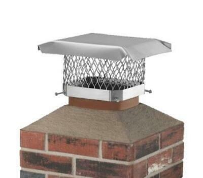 Hy-C SCSS99 9 Inch By 9 Inch Ss Chimney Cap