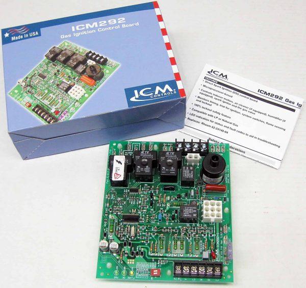 ICM292 ICM Furnace Control Board Module for Rheem: 62-24140-04