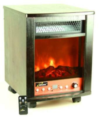 ILG958 iLiving Portable Infrared Fireplace