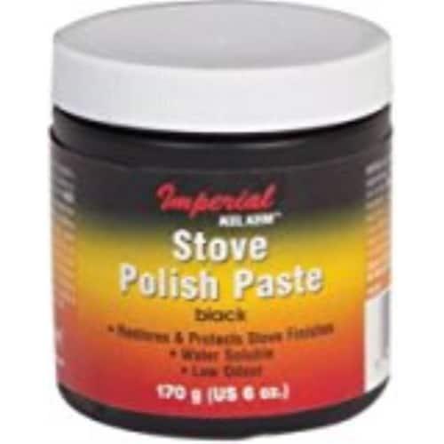 IMPERIAL MFG GROUP USA INC 6-oz. Black Stove Polish Paste KK0059 1