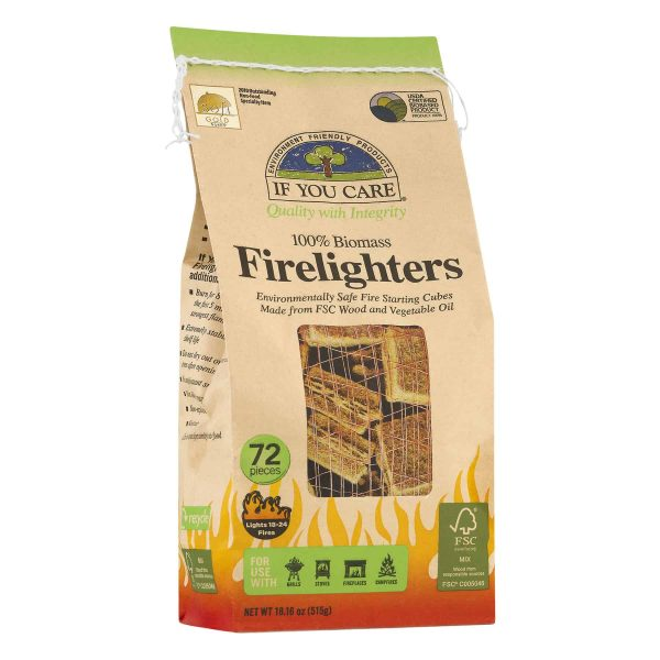 If You Care Firelighters 1