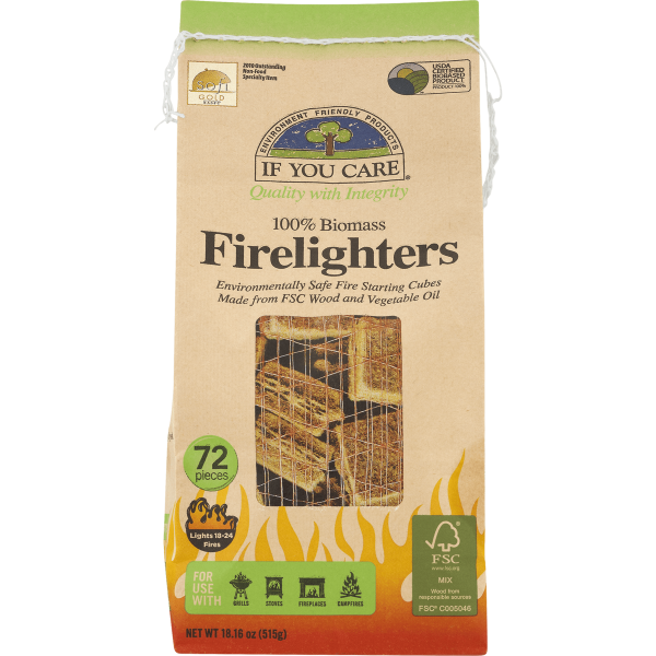 If You Care Firelighters 3