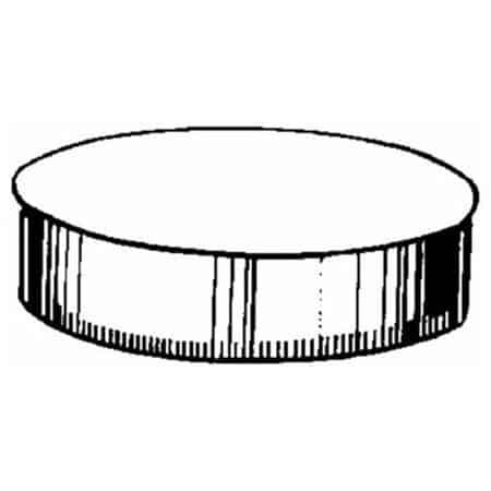 Imperial GV0735 Round Stove Pipe End Cap