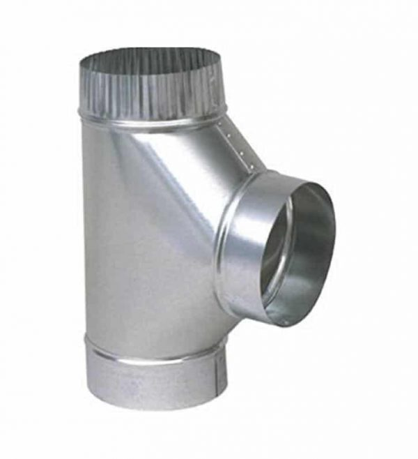Imperial GV0883-A Furnace Pipe Full Flow Tee
