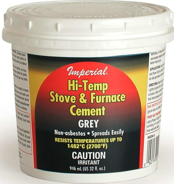 Imperial KK0284-A High Temperature Stove and Furnace Cement
