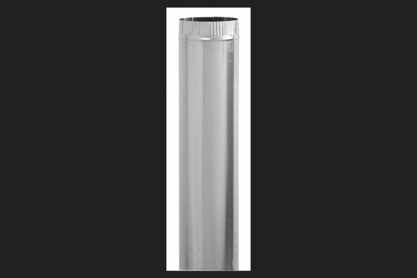Imperial Manufacturing 6 in. Dia. x 12 in. L Galvanized Steel Steel Pipe Metallic