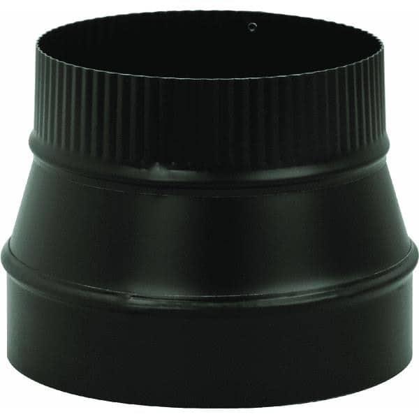 "Imperial Manufacturing Group BM0079 8"" X 6"" Black Matte Reducer 1"