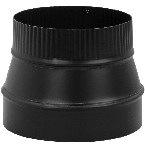 "Imperial Manufacturing Group BM0079 8"" X 6"" Black Matte Reducer 2"