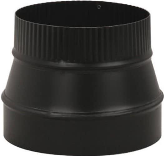 "Imperial Manufacturing Group BM0079 8"" X 6"" Black Matte Reducer 3"