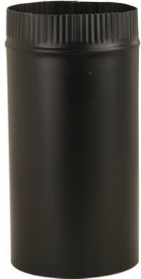 Imperial Mfg Group 4x24 Black Stove Pipe BM0344