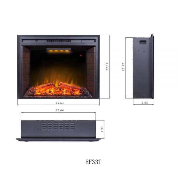 Insert Electric Fireplace 2