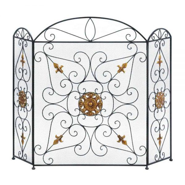 Interior Splendor Fireplace Screen