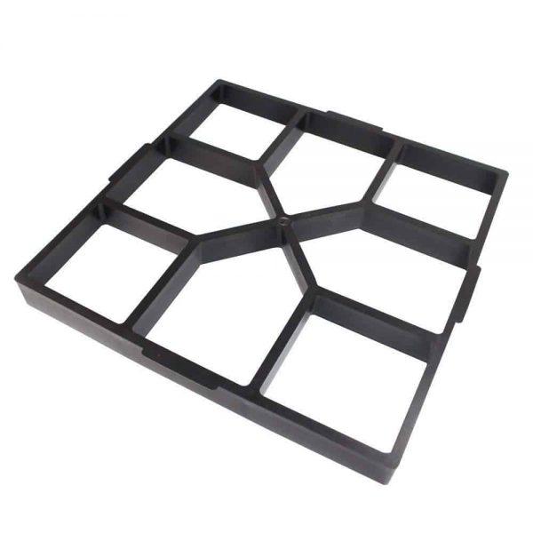 Iuhan Path Maker Mold Reusable Concrete Cement Stone Design Paver Walk Mould 2