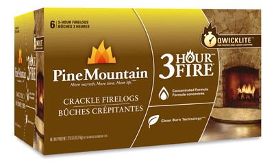Jarden Home Brands-Firelog 6PK 3HR Crackl Fire Log