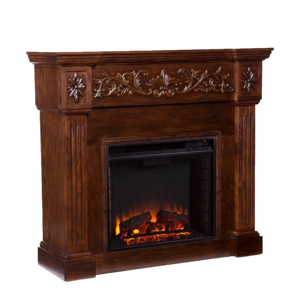Jaxfyre Electric Fireplace, Espresso 2