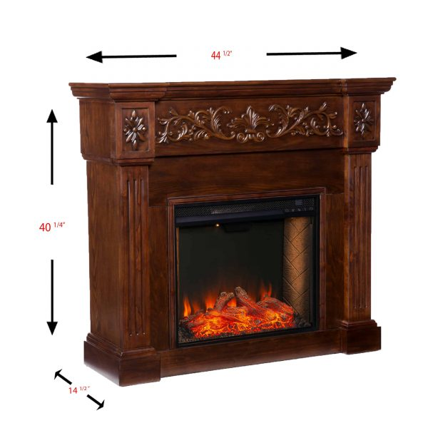 Jaxfyre Smart Electric Fireplace 1