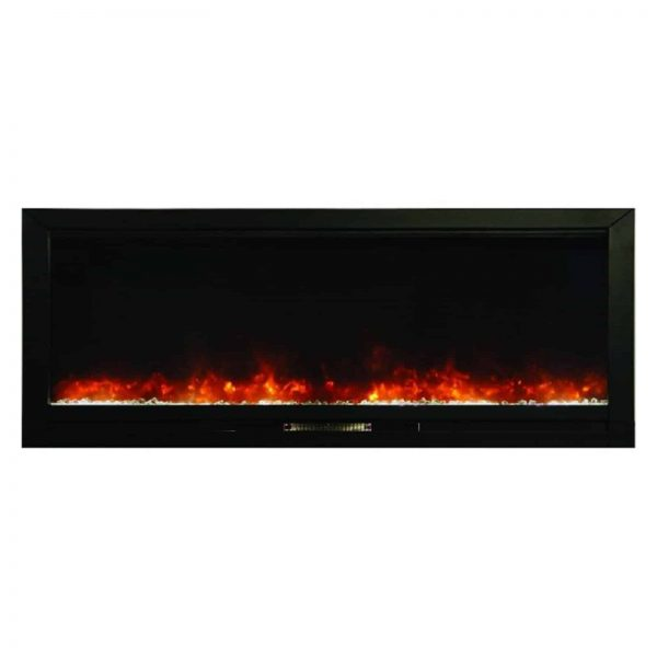 KNOCK OUT ELECTRIC BUILT IN FIREPLACE