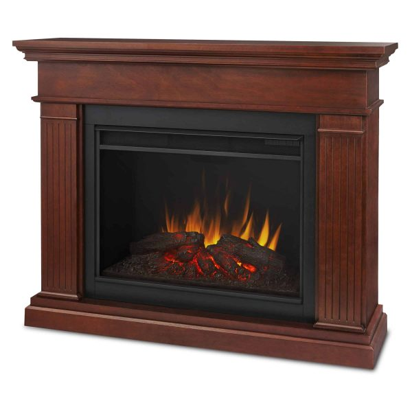 Kennedy Grand Electric Fireplace in Dark Espresso by Real Flame 1