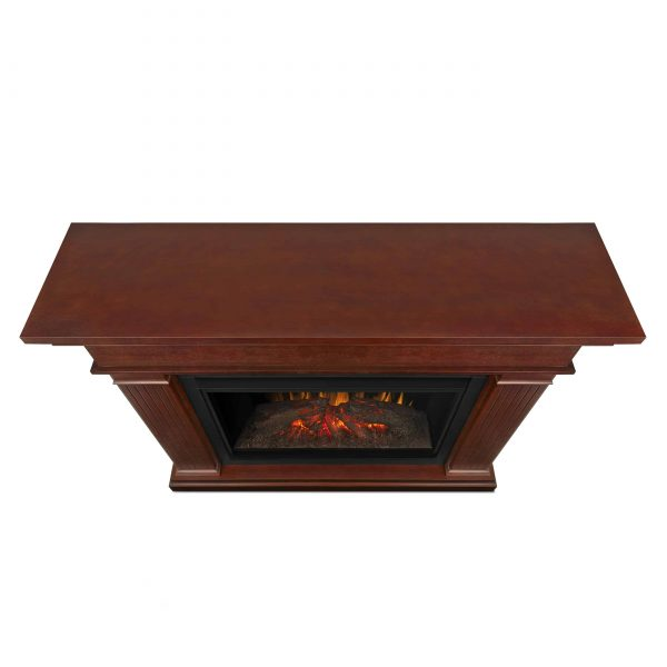 Kennedy Grand Electric Fireplace in Dark Espresso by Real Flame 2